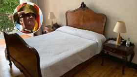 La cama del Hotel Madrid, en Las Palmas de Gran Canaria, donde durmió Franco el día que estalló la sublevación.