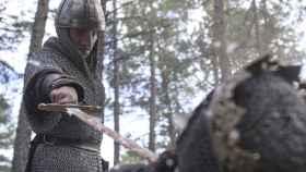 Jaime Lorente interpreta a Rodrigo Díaz de Vivar en 'El Cid'.