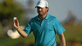El golfista español Pablo Martín