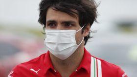 Carlos Sainz en Silverstone