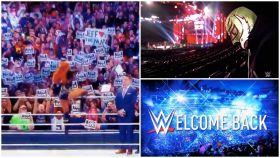 Los aficionados vuelven al WWE