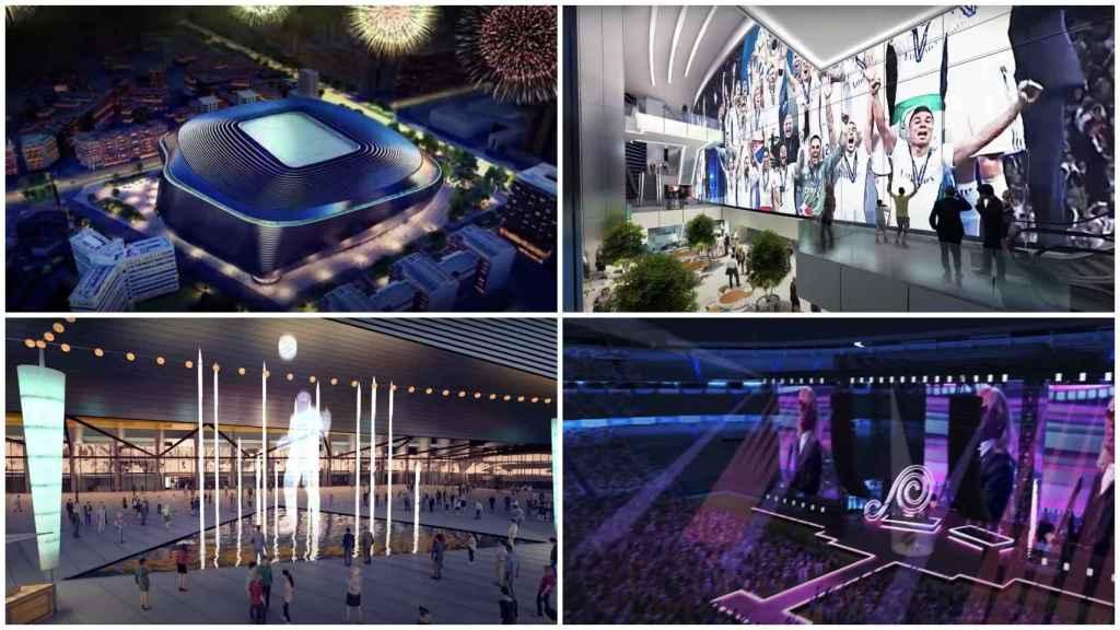 El nuevo Santiago Bernabéu cobra vida