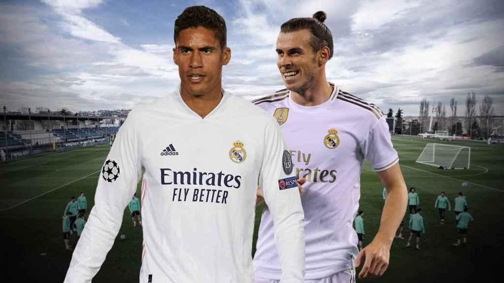 Varane y Bale