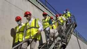 Visita a la planta de tratamiento de residuos de Almagro
