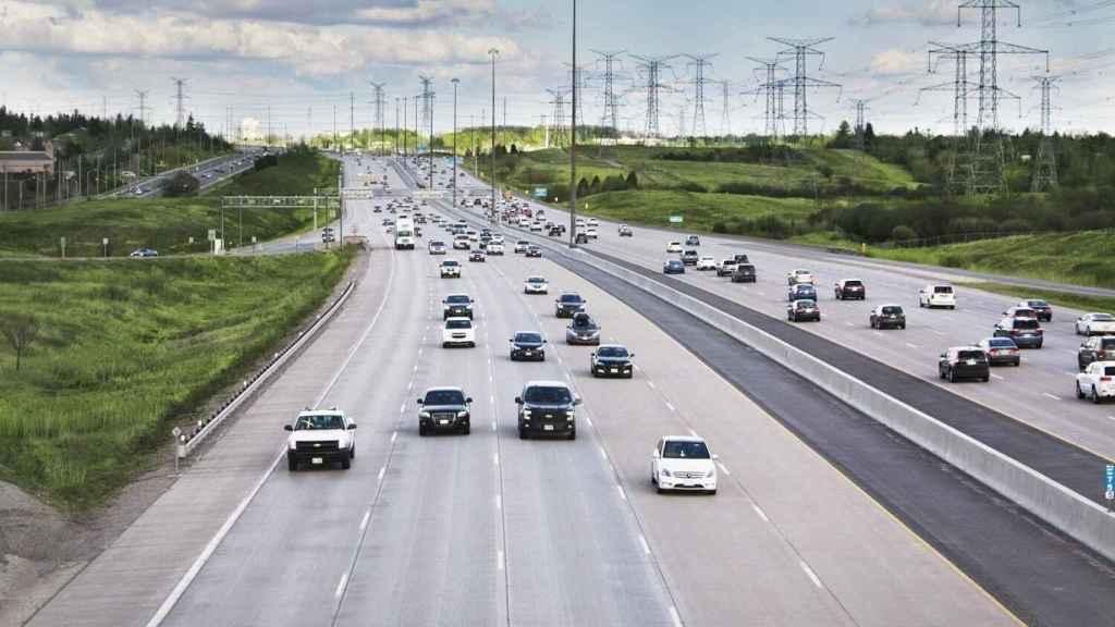 Autopista 407 en Canadá.