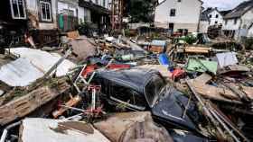 Escombros cubren las calles de la localidad de Schuld, en el distrito de Ahrweiler.