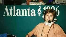Paloma del Río durante los Juegos Olímpicos de Atlanta 1996.