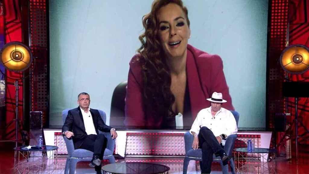 Amador sentado en 'Deluxe' junto a Jorge Javier Vázquez.