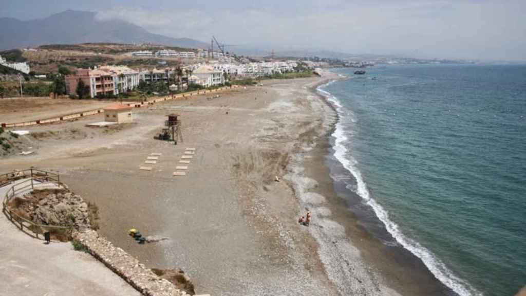 Piedra Paloma es una de las playas más tranquilas de la provincia.