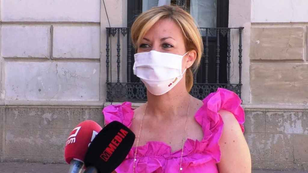 Ana Isabel Abengózar, portavoz del PSOE en las Cortes de Castilla-La Mancha