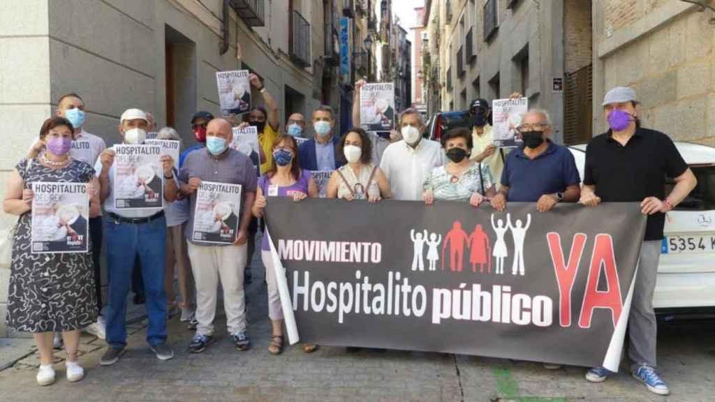 Imagen de archivo de una de las manifestaciones de la plataforma Hospitalito Ya!