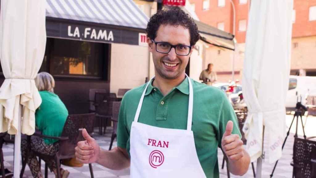 Fran Martínez tras su éxito en Masterchef