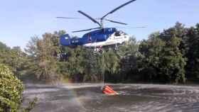 Imagen de archivo de un helicóptero Kamot