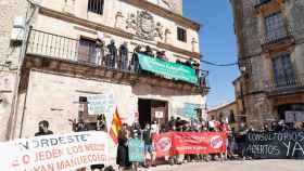 Segovia estalla para reclamar una 'Sanidad rural digna' y lamenta su abandono 1