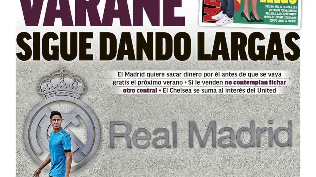 La portada del diario MARCA (17/07/2021)