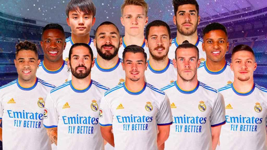 Overbooking en el ataque del Real Madrid