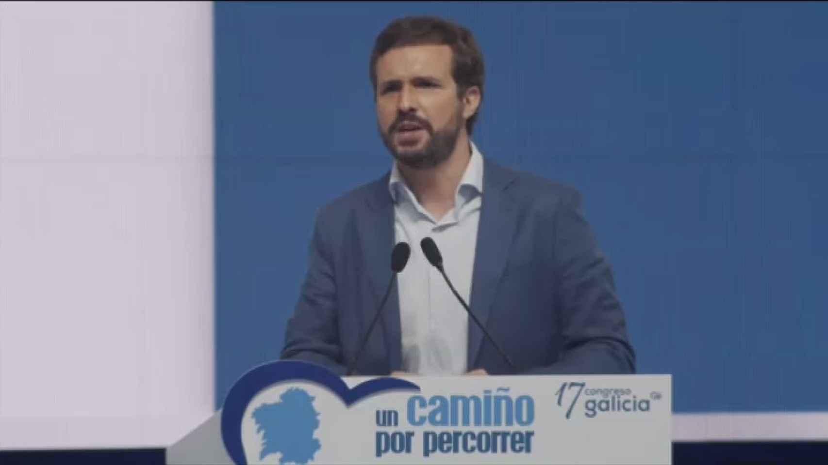 Casado critica que el Gobierno no disponga aún de un marco legal para afrontar la pandemia