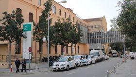 Vista del Hospital Civil de Málaga.