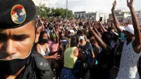 Una manifestación organizada la pasada semana en La Habana.