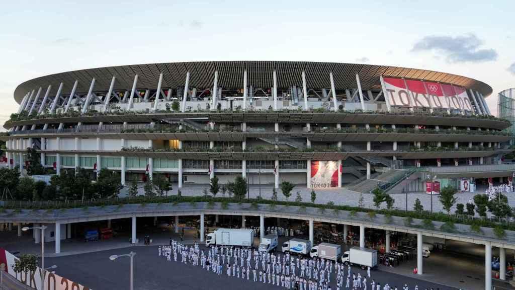 El Estadio Nacional de los Juegos Olímpicos de Tokio 2020