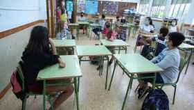 Una clase de un colegio de la Comunidad Valenciana en una imagen de archivo.