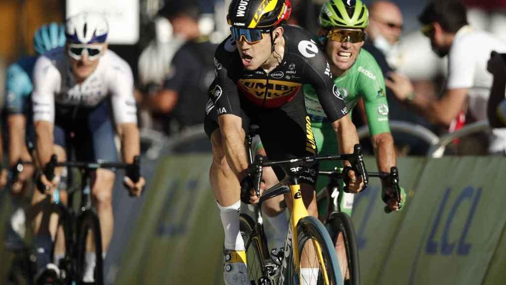 Van Aert gana el sprint de París en el Tour de Francia 2021