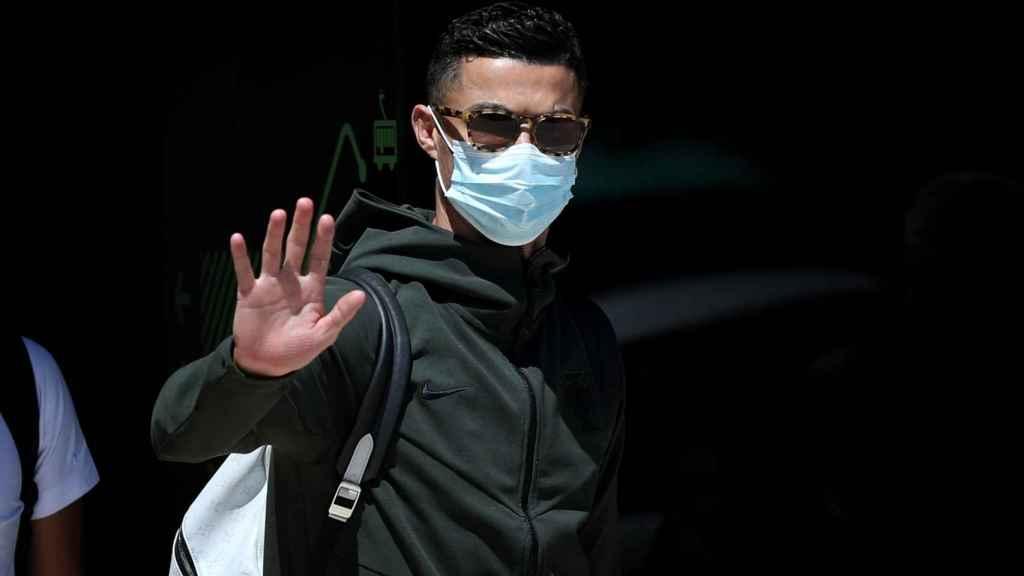 Cristiano Ronaldo, tras la eliminación de Portugal de la Eurocopa