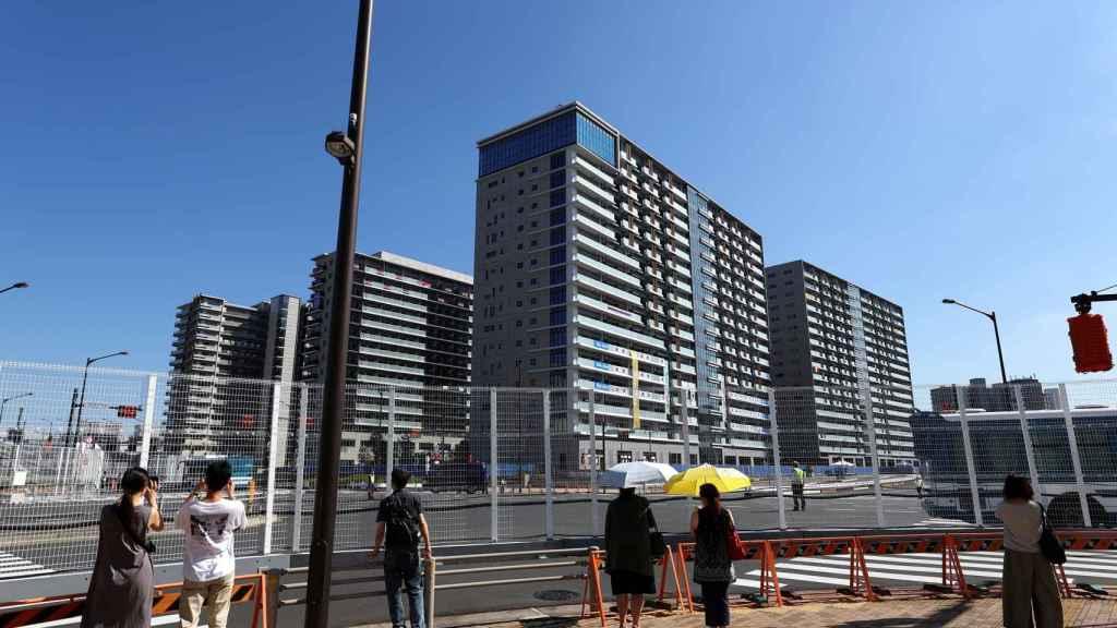 La Villa Olímpica de Tokio 2020, desde el exterior