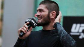 Khabib Nurmagomédov, luchador ruso de MMA y de la UFC