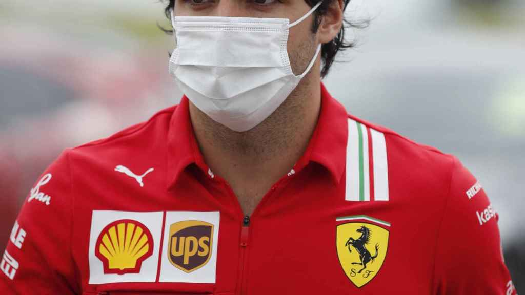 Carlos Sainz Jr., en el Gran Premio de Silverston de Fórmula 1