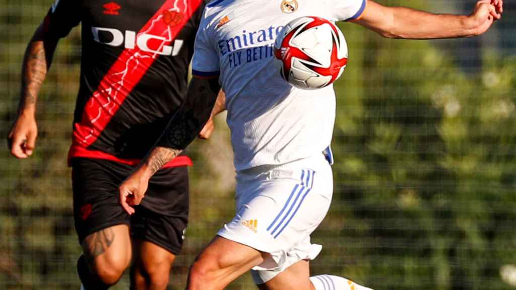 Isco Alarcón, en un partido del Real Madrid ante el Rayo Vallecano