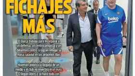 La portada del diario SPORT (18/07/2021)
