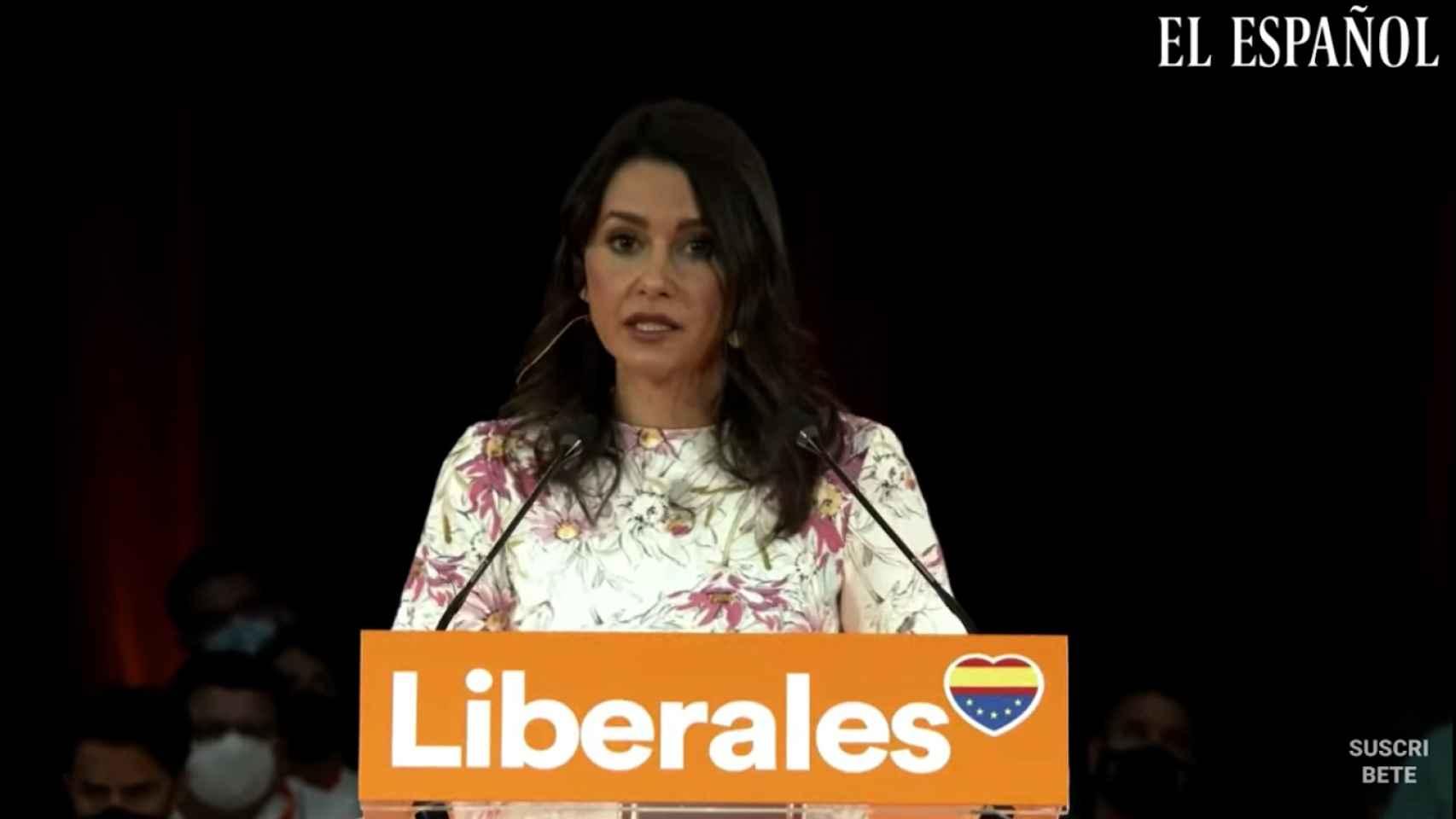 Discurso de clausura de Inés Arrimadas en la Convención Política de Ciudadanos