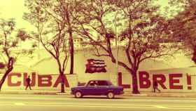 Un coche en Cuba.