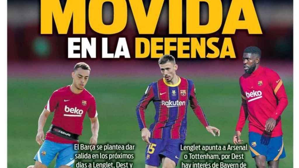 La portada del diario SPORT (19/07/2021)