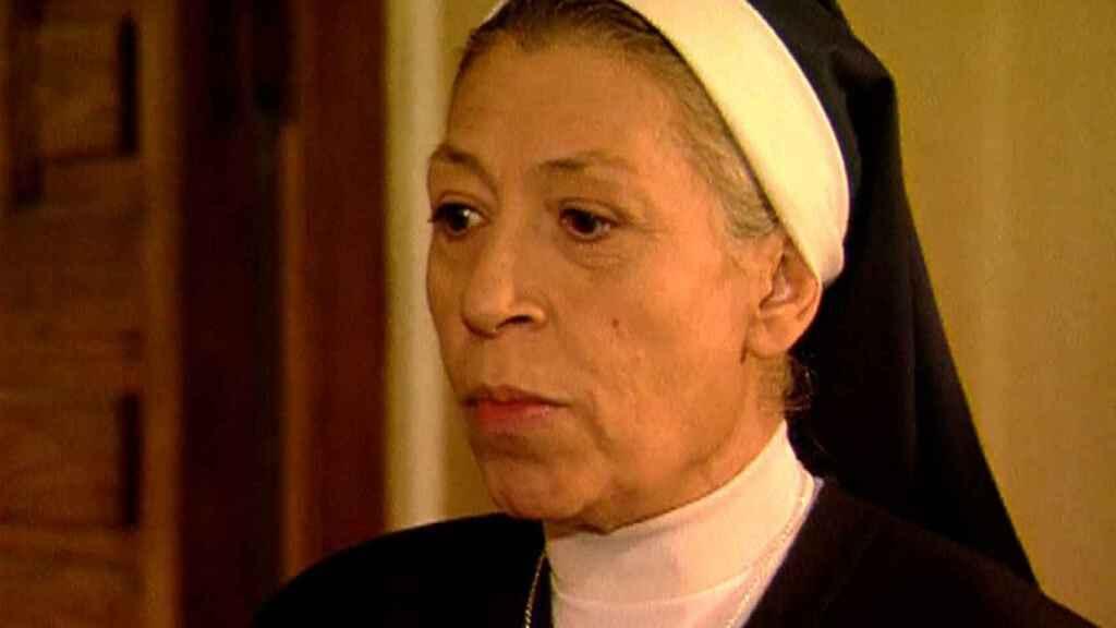 Pilar Bardem en la serie de Telecinco 'Hermanas'