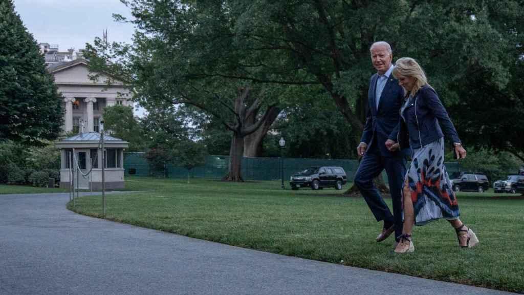 Los Biden han retomado la tradición de alojarse en Camp David.