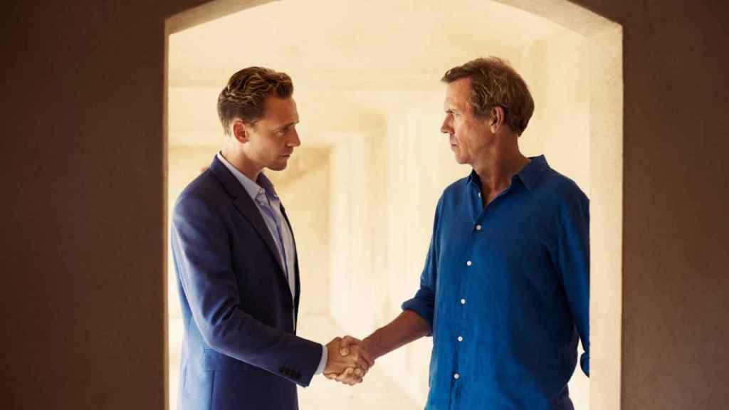 Tom Hiddleston y Hugh Laurie protagonizan 'El infiltrado'