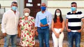 Grupo municipal del PP en el ayuntamiento de Olías del Rey