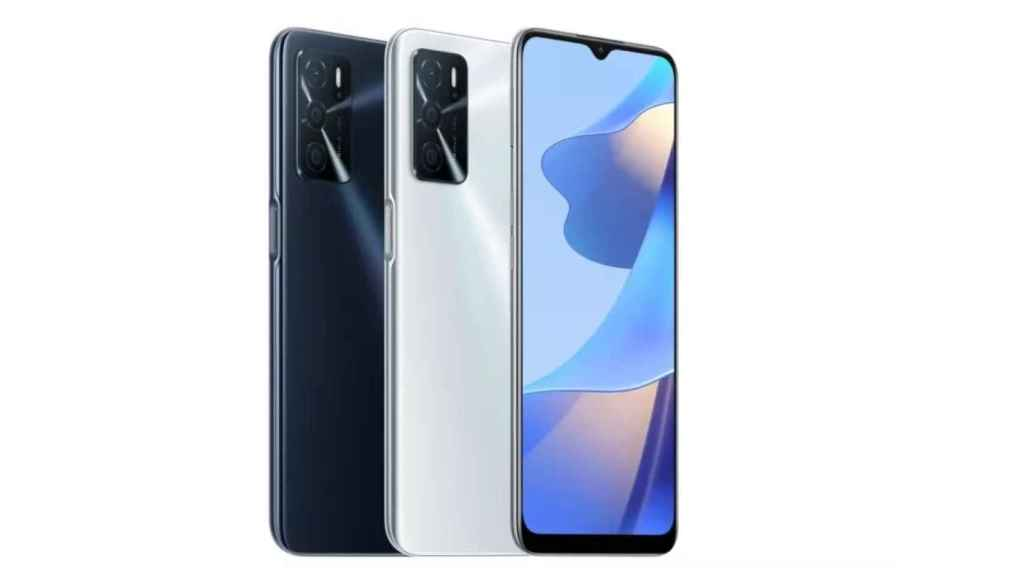 OPPO A16 colores