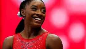 Simone Biles, en los US Olympic Team Trials de 2021