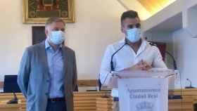Paco Cañizares y Pablo Alonso en rueda de prensa este lunes en Ciudad Ral