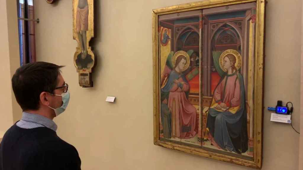 Sensor ShareArt en museo de Bolonia