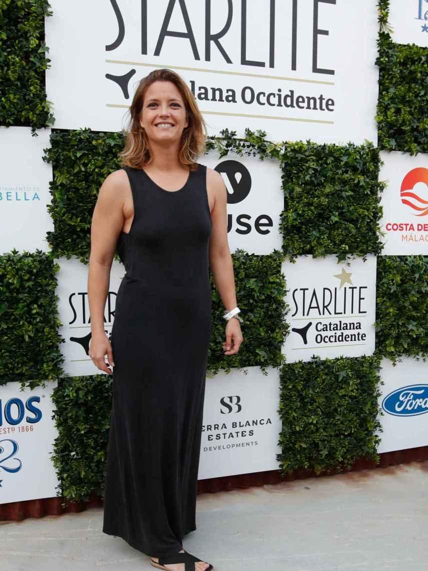 María Casado posando en el photocall de la última edición de Starlite.