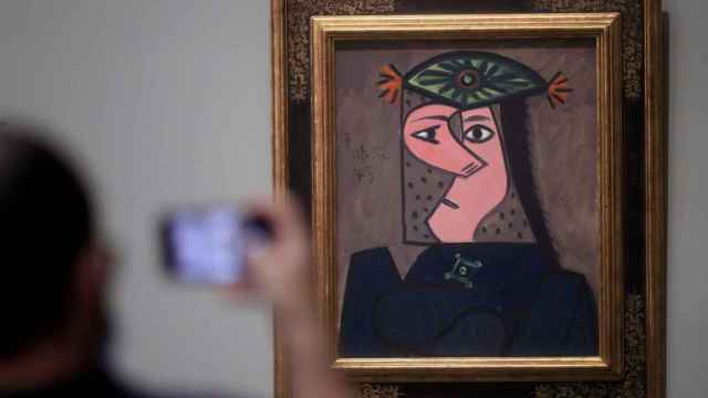 Picasso vuelve al Museo del Prado con 'Busto de mujer 43'.