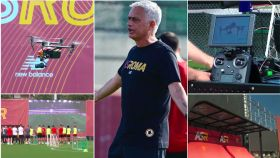 Jose Mourinho y su nueva tecnología en la Roma