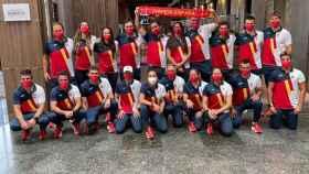 El equipo olímpico español de vela para los Juegos de Tokio 2020