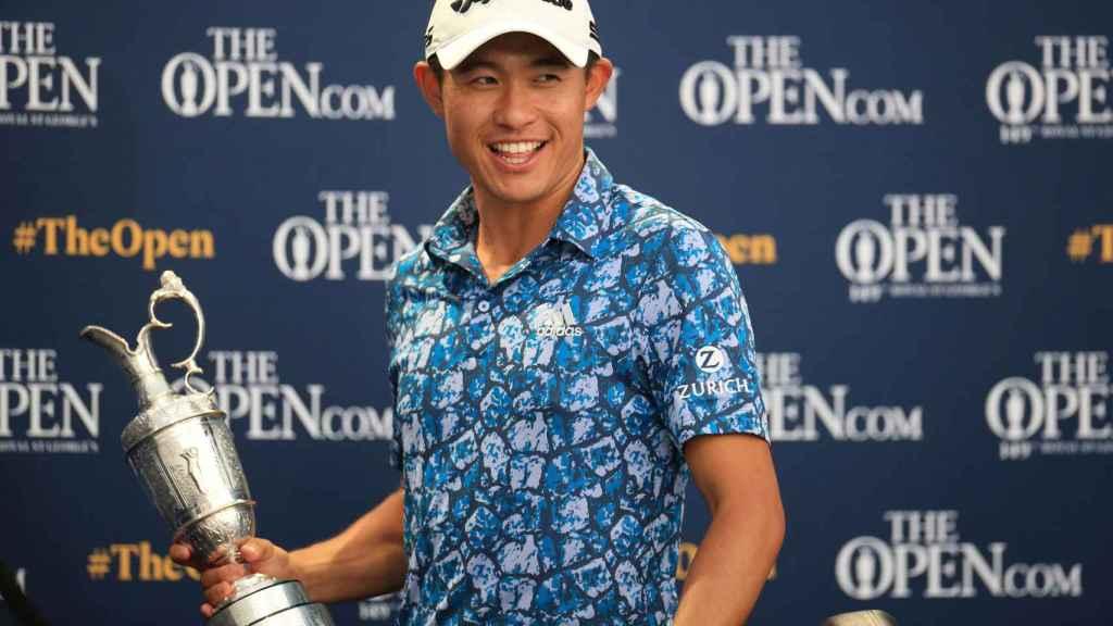 Collin Morikawa tras ganar The Open