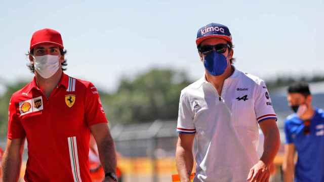 Fernando Alonso y Carlos Sainz