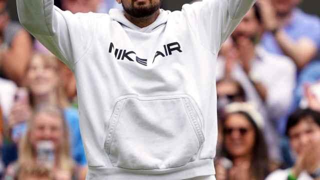 Nick Kyrgios, en Wimbledon